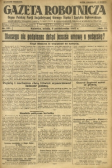 Gazeta Robotnicza, 1927, R. 32, nr 231