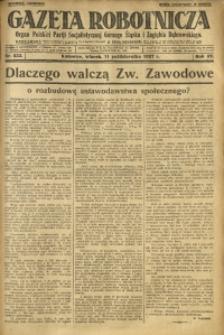 Gazeta Robotnicza, 1927, R. 32, nr 233