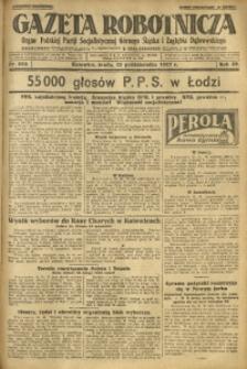 Gazeta Robotnicza, 1927, R. 32, nr 234