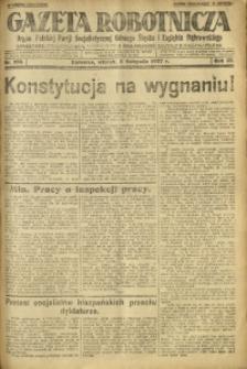 Gazeta Robotnicza, 1927, R. 32, nr 256