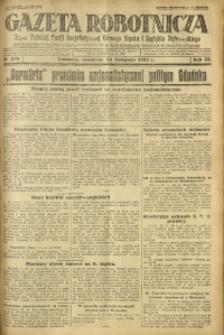 Gazeta Robotnicza, 1927, R. 32, nr 270