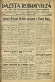Gazeta Robotnicza, 1927, R. 32, nr 281