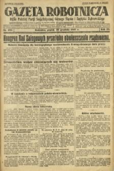 Gazeta Robotnicza, 1927, R. 32, nr 299