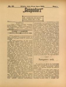 Gospodarz, 1903, R. 1, nr 20