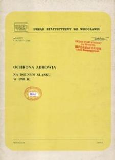 Ochrona zdrowia na Dolnym Śląsku w 1998 r.