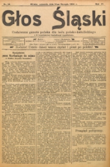 Głos Śląski, 1904, R. 2, nr 10