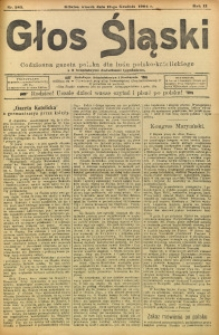Głos Śląski, 1904, R. 2, nr 285