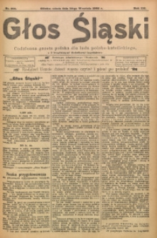 Głos Śląski, 1905, R. 3, nr 213
