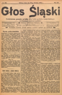 Głos Śląski, 1905, R. 3, nr 291