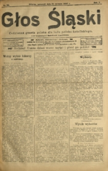 Głos Śląski, 1907, R. 5, nr 26