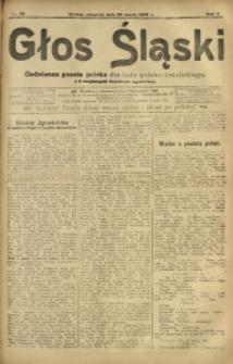 Głos Śląski, 1907, R. 5, nr 72