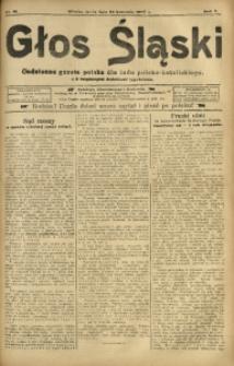 Głos Śląski, 1907, R. 5, nr 81