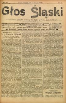 Głos Śląski, 1907, R. 5, nr 183