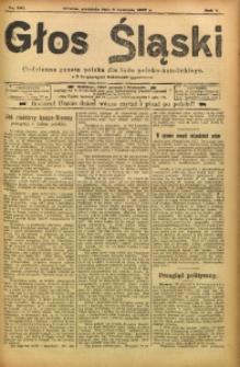 Głos Śląski, 1907, R. 5, nr 207