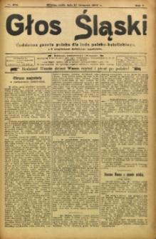 Głos Śląski, 1907, R. 5, nr 273