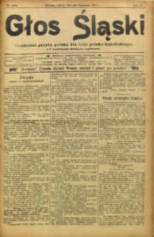 Głos Śląski, 1907, R. 5, nr 276