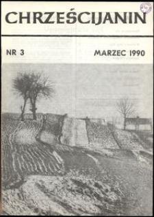 Chrześcijanin, 1990, nr 3