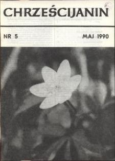 Chrześcijanin, 1990, nr 5