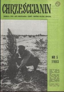 Chrześcijanin, 1983, nr 5