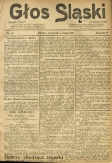 Głos Śląski, 1911, R. 9, nr 28