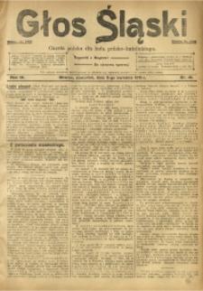 Głos Śląski, 1911, R. 9, nr 41