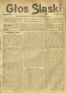 Głos Śląski, 1911, R. 9, nr 92