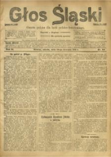 Głos Śląski, 1911, R. 9, nr 99