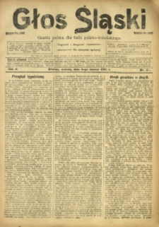 Głos Śląski, 1912, R. 10, nr 30