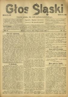 Głos Śląski, 1912, R. 10, nr 37