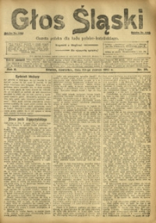 Głos Śląski, 1912, R. 10, nr 38