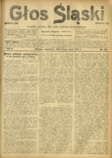 Głos Śląski, 1912, R. 10, nr 62