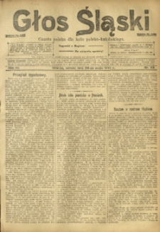 Głos Śląski, 1913, R. 11, nr 62