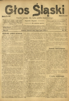 Głos Śląski, 1913, R. 11, nr 81