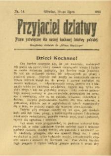 Przyjaciel Dziatwy, 1913, nr 14