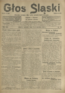 Głos Śląski, 1915, R. 13, nr 72