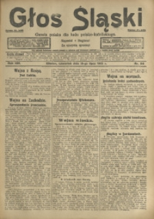 Głos Śląski, 1915, R. 13, nr 84