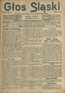 Głos Śląski, 1915, R. 13, nr 93