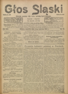 Głos Śląski, 1916, R. 14, nr 75