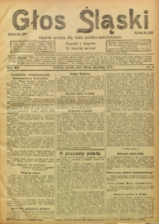Głos Śląski, 1917, R. 15, nr 5