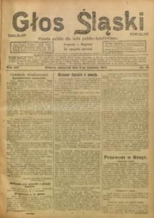 Głos Śląski, 1917, R. 15, nr 41