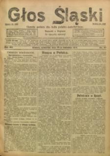 Głos Śląski, 1917, R. 15, nr 47