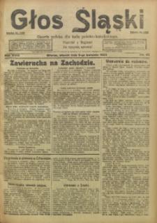 Głos Śląski, 1920, R. 18, nr 42