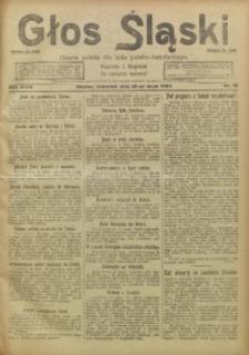 Głos Śląski, 1920, R. 18, nr 61