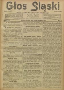 Głos Śląski, 1920, R. 18, nr 77