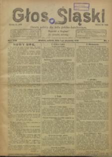 Głos Śląski, 1921, R. 19, nr 1
