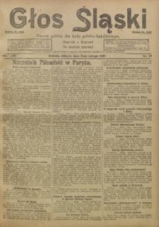 Głos Śląski, 1921, R. 19, nr 17