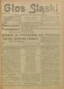 Głos Śląski, 1921, R. 19, nr 33