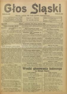 Głos Śląski, 1921, R. 19, nr 36
