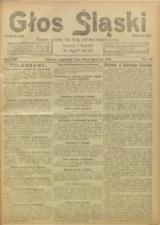 Głos Śląski, 1921, R. 19, nr 45