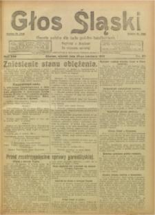 Głos Śląski, 1921, R. 19, nr 47